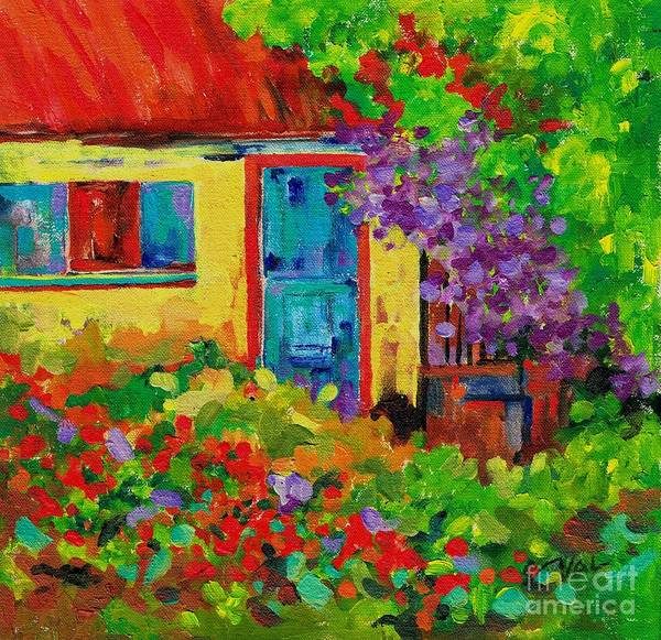Painting - Welcome Home by Val Stokes