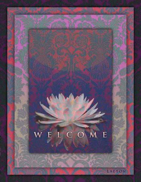Photograph - Welcome by Richard Laeton