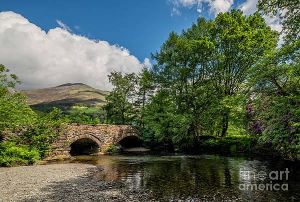 Bridge Bank Photograph - Welsh Landscape by Adrian Evans