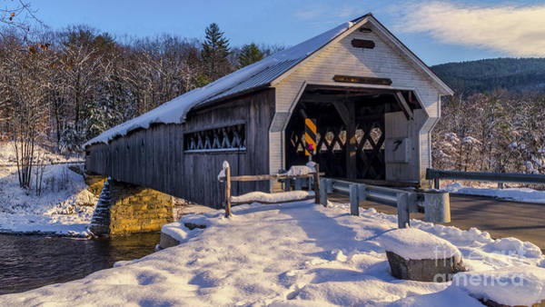 Photograph - West Dummerston Covered Bridge. by New England Photography