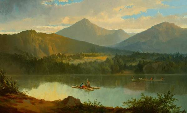 Beautiful Painting - Western Landscape by John Mix Stanley