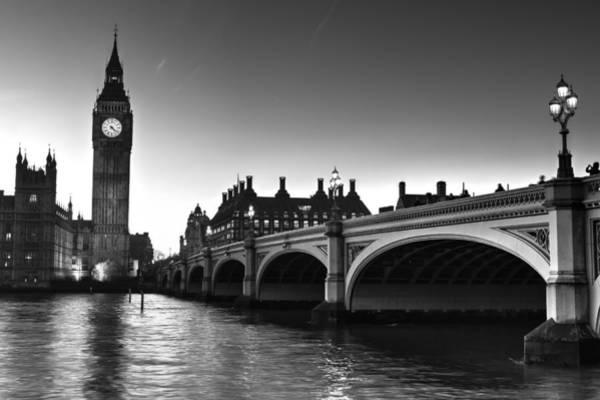 Wall Art - Photograph - Westminster Bridge And Big Ben by David Pyatt