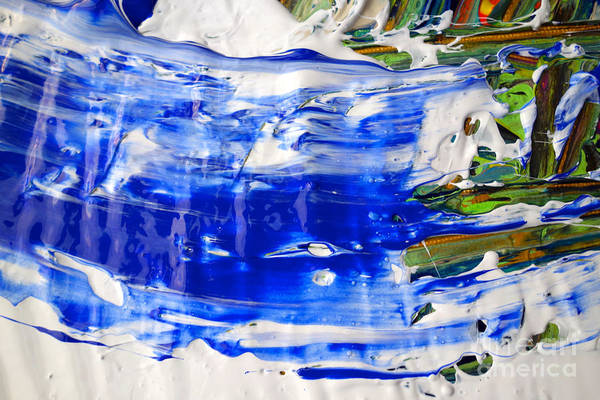 Photograph - Wet Paint 54 by Jacqueline Athmann