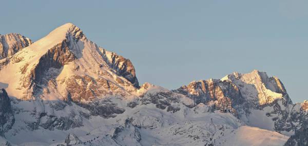 Rufous Photograph - Wetterstein Mountain Range In Winter by Martin Zwick