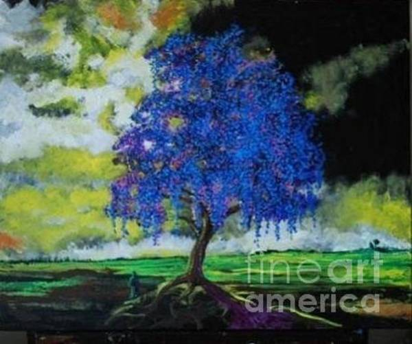 Painting - What Dreams May Come Spirit Tree by Stefan Duncan