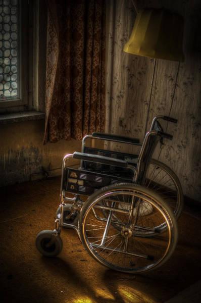 Apparition Digital Art - Wheelchair View  by Nathan Wright