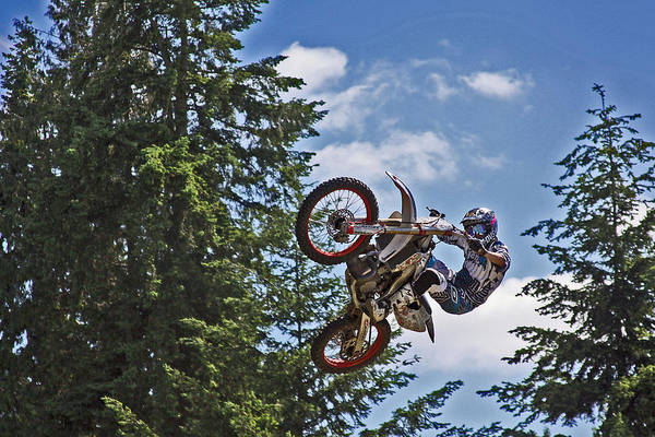 Dirtbike Photograph - Whip It by Brad Walters