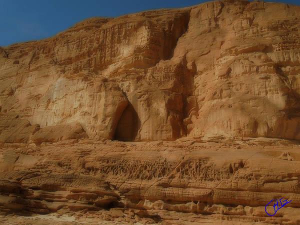 Photograph - White Canyon Sinai Desert Egypt by Colette V Hera  Guggenheim
