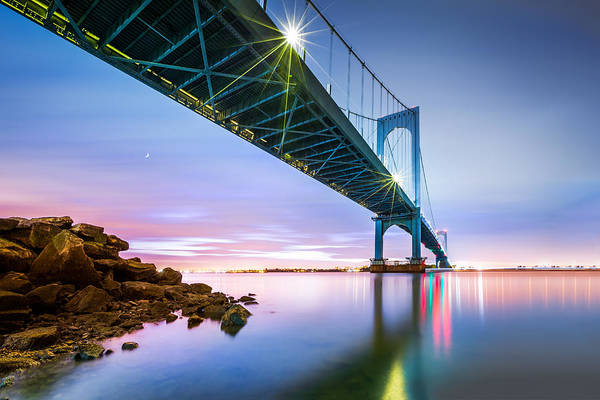 Photograph - Whitestone Bridge by Mihai Andritoiu