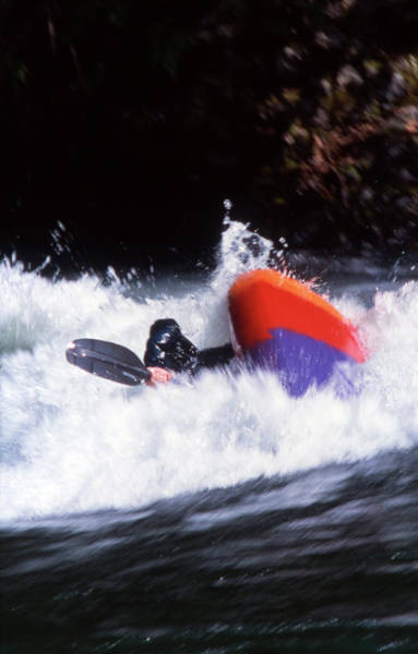Freestyle Photograph - Whitewater Kayak Rodeo, British by Craig Pulsifer