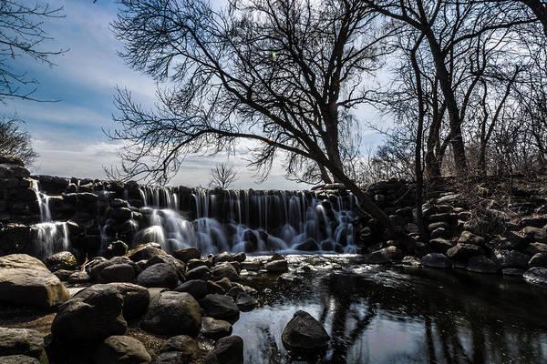 Photograph - Whitnall Waterfall In Spring by Randy Scherkenbach