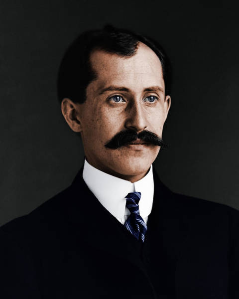 Photograph - Wilbur E Orville Wright Em 1905 by Celestial Images