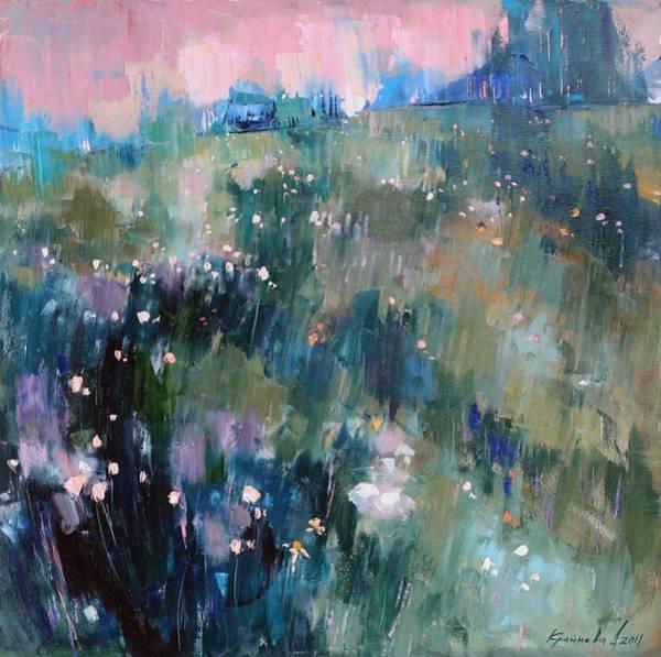 Wall Art - Painting - Wild Grasses  by Anastasija Kraineva