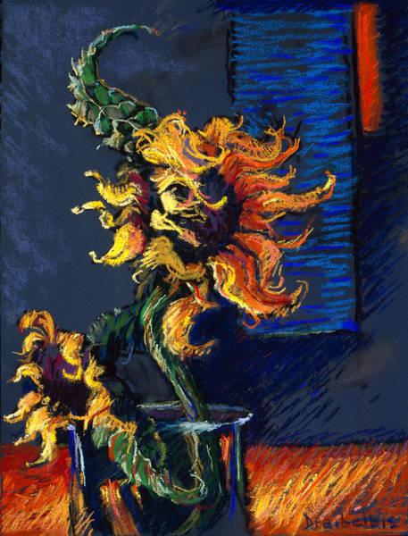 Painting - Wild Sunflowers by Ellen Dreibelbis