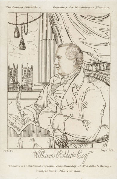 Amuse Drawing - William Cobbett  Journalist And Social by Mary Evans Picture Library