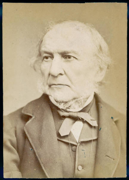 Gladstone Wall Art - Photograph - William Ewart Gladstone  Statesman by Mary Evans Picture Library