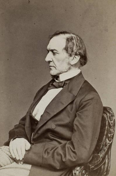 Gladstone Wall Art - Photograph - William Gladstone (1809-1898) by Granger