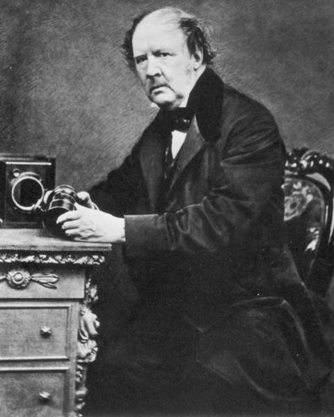Photograph - William Henry Fox Talbot (1800-1877) by Granger