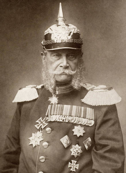 Epaulette Photograph - William I Of Prussia (1797-1888) by Granger