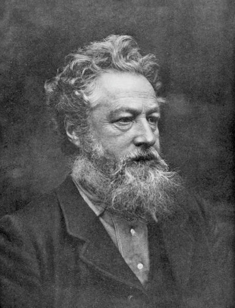 William And Mary Photograph - William Morris  English Poet And Artist by Mary Evans Picture Library