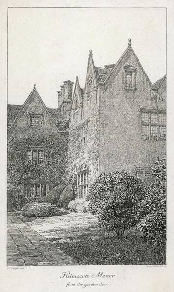 Wall Art - Drawing - William Morris  English Writer's Home by Mary Evans Picture Library