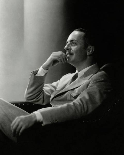 Photograph - William Powell Wearing A Suit by Barnaba