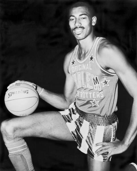 Self Confidence Photograph - Wilt Chamberlain by Fred Palumbo