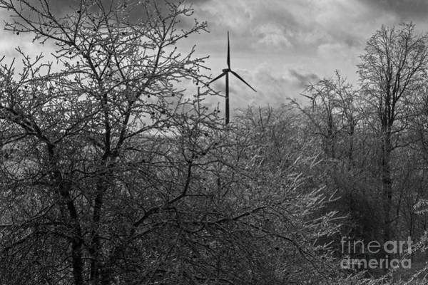Photograph - Wind And Ice by Jim West