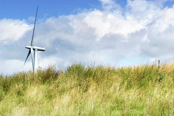 Controversial Wall Art - Photograph - Wind Turbine by Gustoimages/science Photo Library