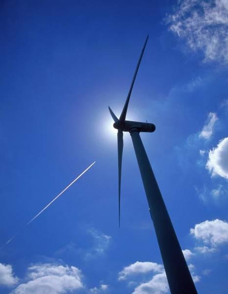Wind Generator Photograph - Wind Turbine by Mark Sykes