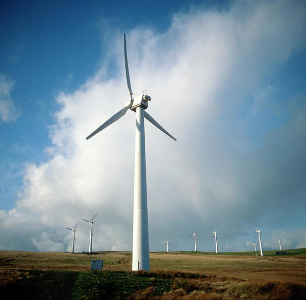 Controversial Wall Art - Photograph - Wind Turbine by Robert Brook/science Photo Library