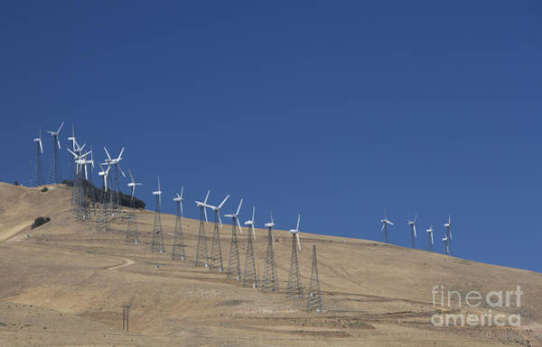Photograph - Wind Turbines by Jim West