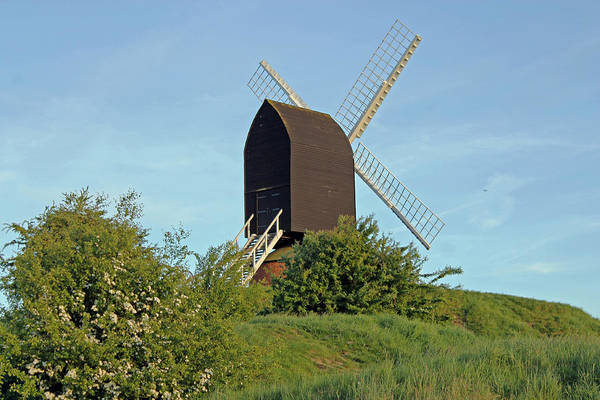 Photograph - Windmill On Brill Common by Tony Murtagh