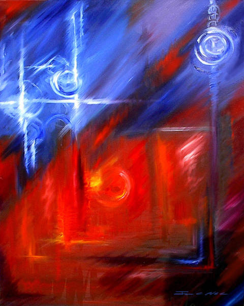 Wall Art - Painting - Windows by James Christopher Hill