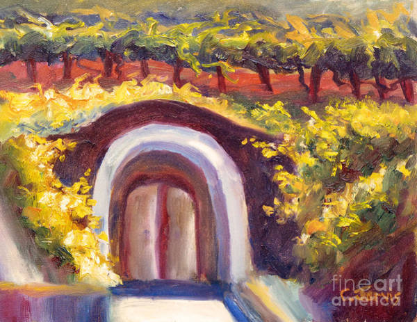 Painting - Wine Cave by Carolyn Jarvis