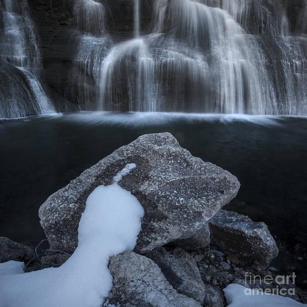Photograph - Winter Falls by Ryan Heffron