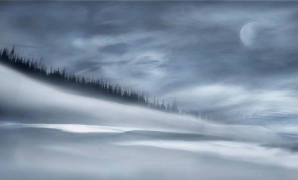Wall Art - Photograph - Winter Night by Heidi Westum