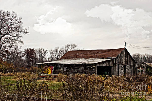 Photograph - Wisconsin Old Barn 10 by Ms Judi