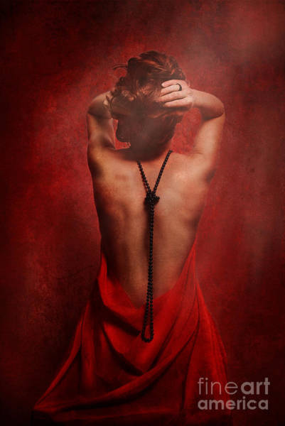 Photograph - Woman In Red by Jelena Jovanovic