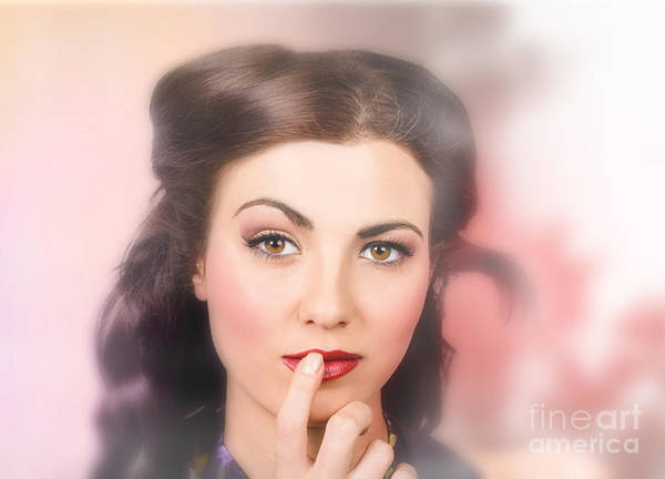 Photograph - Woman With Perfect Skin And Professional Make-up by Jorgo Photography - Wall Art Gallery
