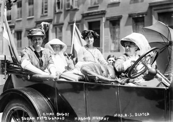 Wall Art - Photograph - Women's Suffrage, 1913 by Granger