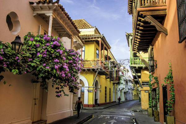 Wonderful Spanish Colonial Architecture Art Print by Jerry Ginsberg