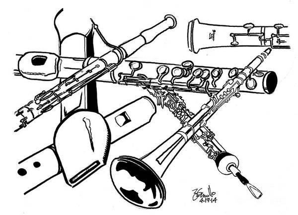 Oboe Reed Art