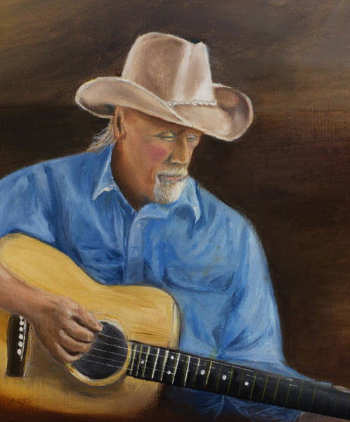Photograph - Woody Painting 16x20 by Wayne Wood