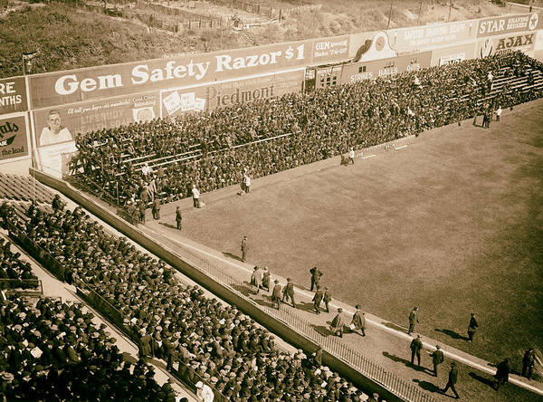 Brooklyn Dodgers Photograph - World Series Crowd At Ebbets Field Brooklyn 1920 by Mountain Dreams