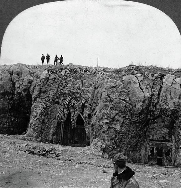 Wall Art - Painting - World War I Doberdo by Granger
