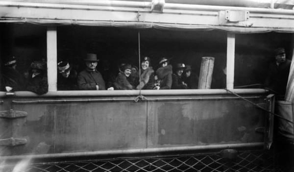 Photograph - World War I Lusitania by Granger