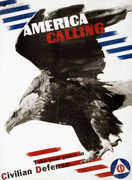 Photograph - World War II Poster, 1941 by Granger