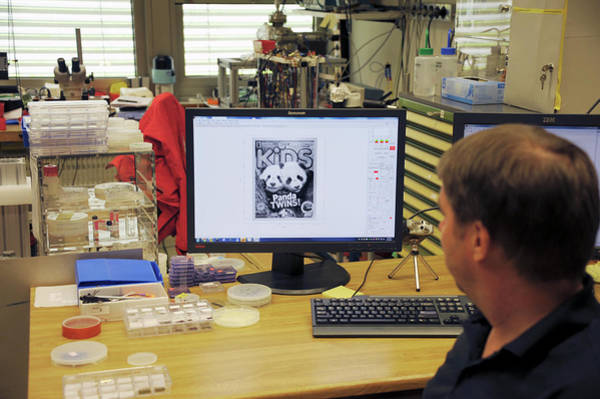 Lithography Wall Art - Photograph - World's Smallest Magazine Cover by Ibm Research