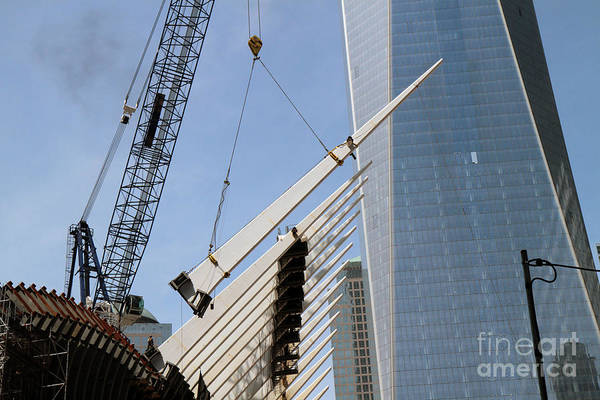 Photograph - Wtc Oculus Construction by Steven Spak